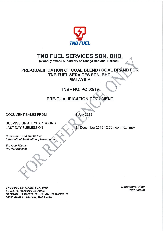 RFP Document PQ 02-19